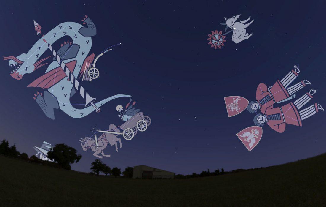 Folk constellations of Belarus