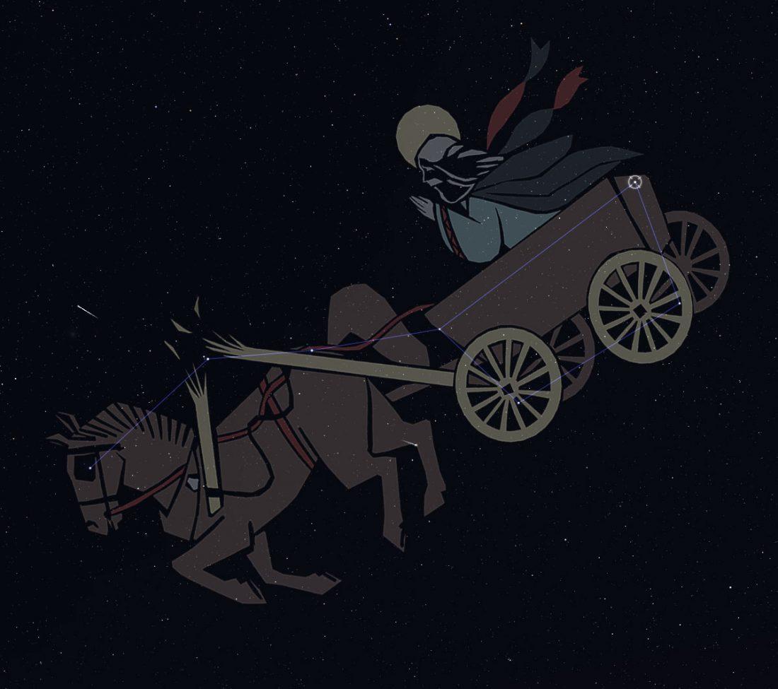 The Big Dipper: St. Elias's Cart