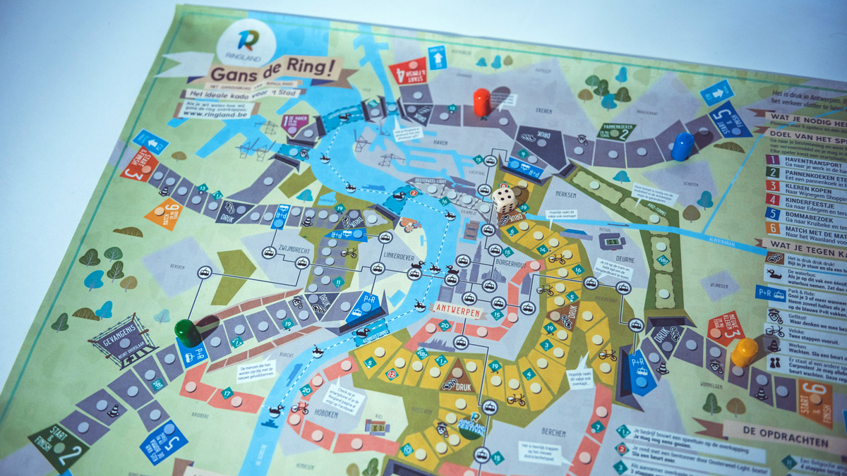 board game Antwerp overview